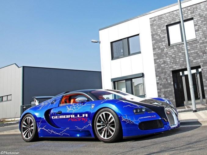 Bugatti Veyron Sang Noir by Cam Shaft 2012
