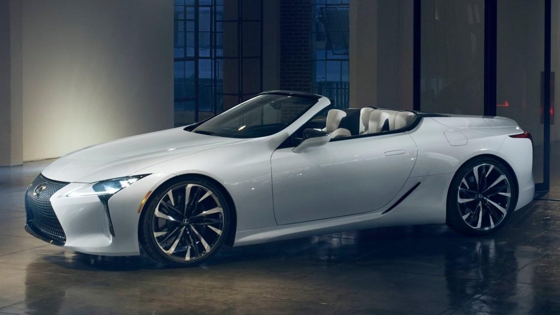 Lexus LC Convertible Concept 2019 – Bientôt un modèle de série ?