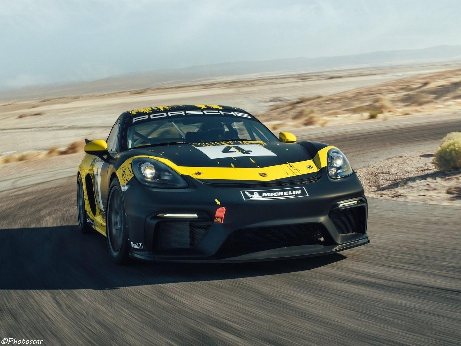 Porsche 718 Cayman GT4 Clubsport 2019