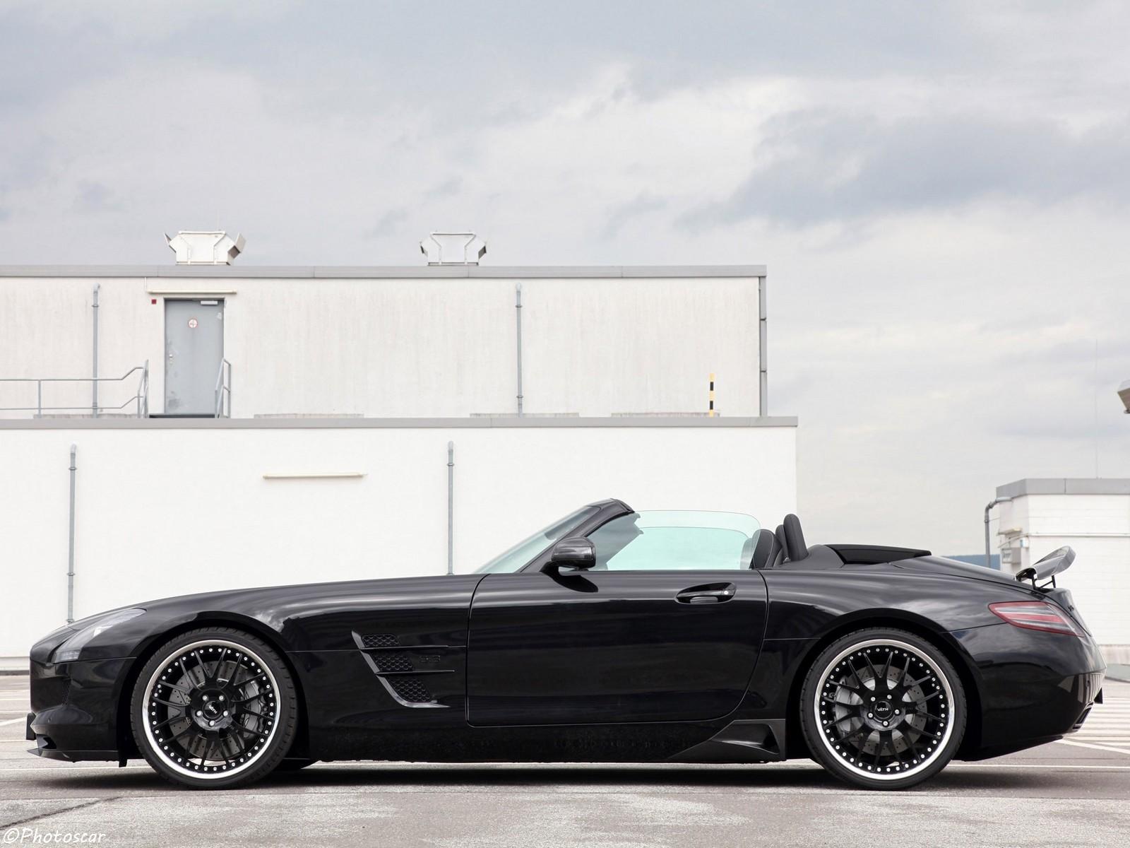 VATH Mercedes-Benz SLS AMG Roadster with 515kW