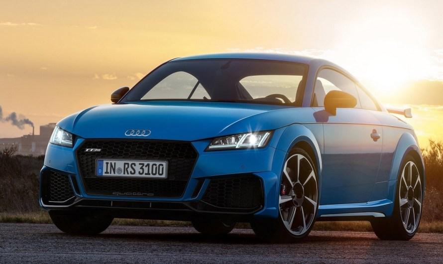Audi TT RS Coupe et Roadster 2020 – propulsé par le moteur 2.5 TFSI.