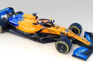 F1 McLaren MCL34 2019