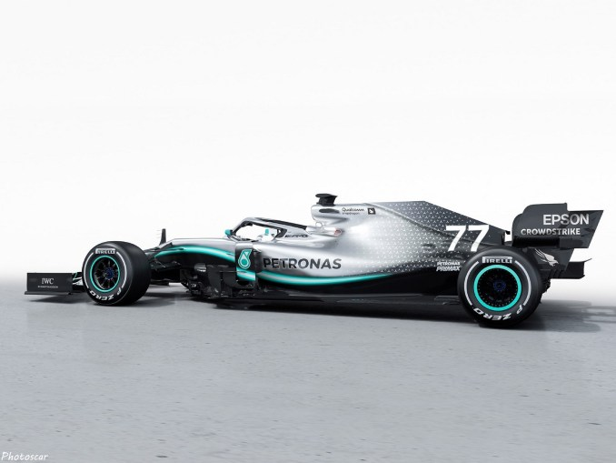 Mercedes AMG F1 W10 2019