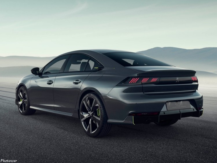 Peugeot 508 Sport Engineered Concept 2019