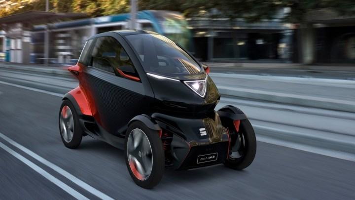 Seat Minimo Concept 2019 –  Conçue pour transporter deux personnes.