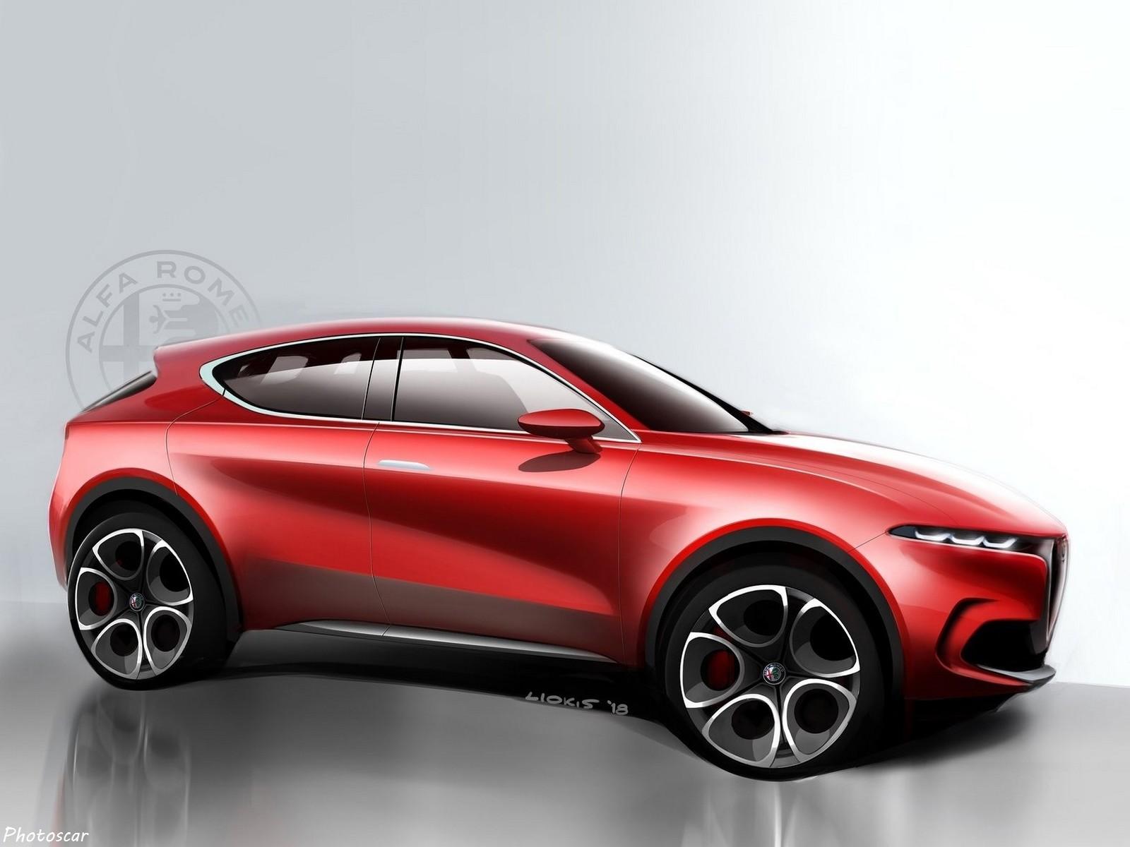 Alfa Romeo Tonale Concept 2019