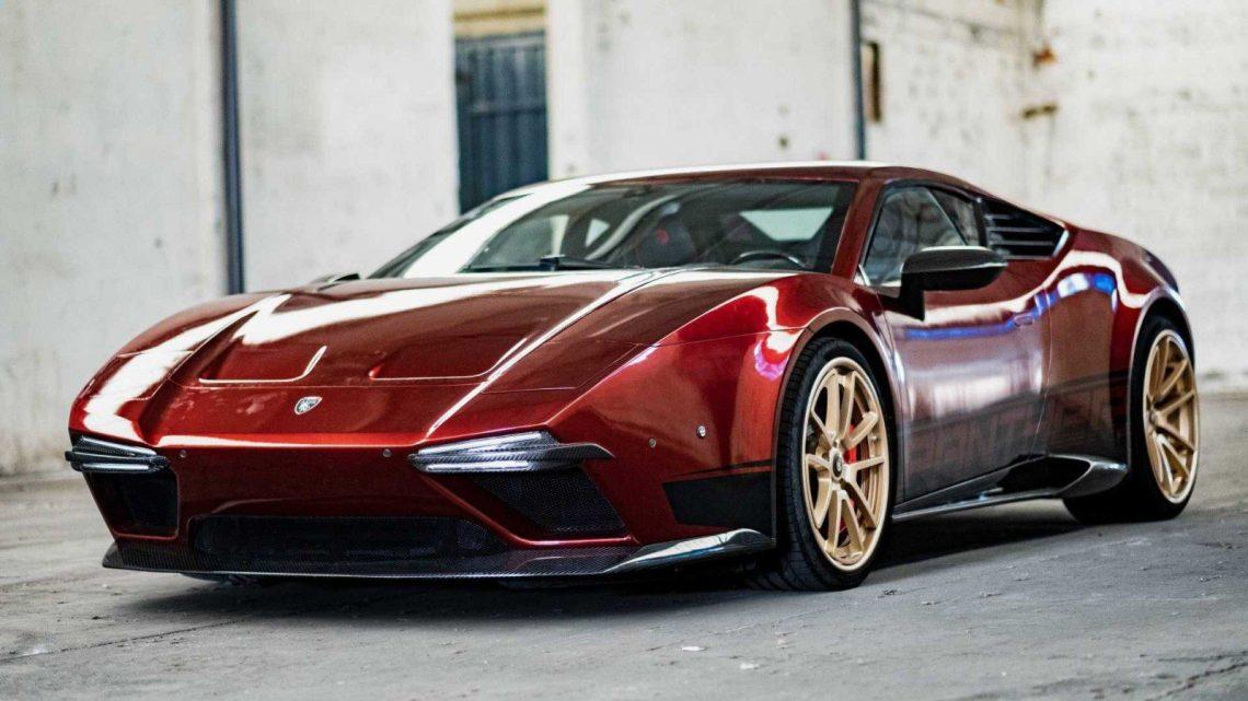 Ares Panther 2019 – Une restauration basé sur la Lamborghini Huracan.