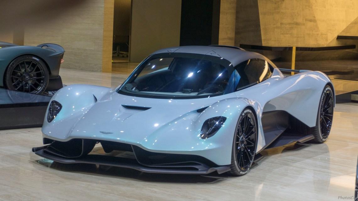 Aston Martin AM-RB 003 Concept 2019 développée avec l'écurie Red Bull.