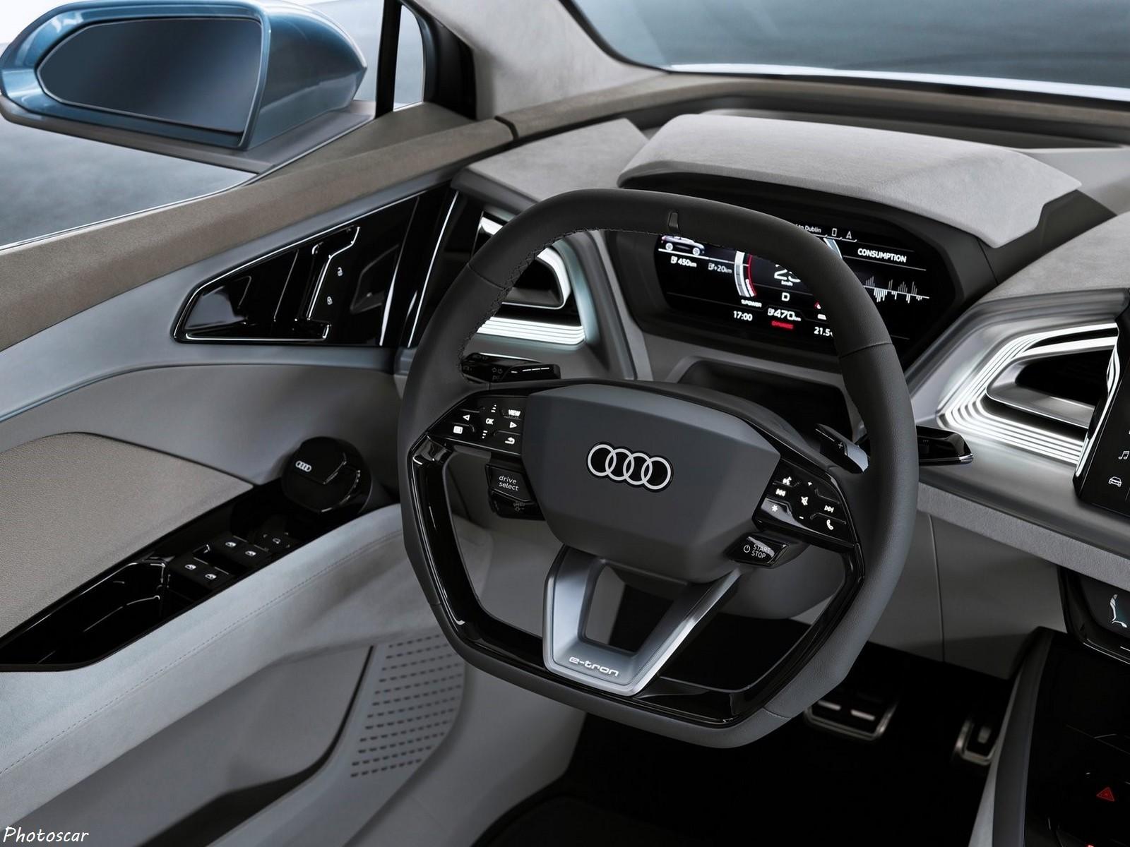 Audi e-tron Q4 Concept 2019