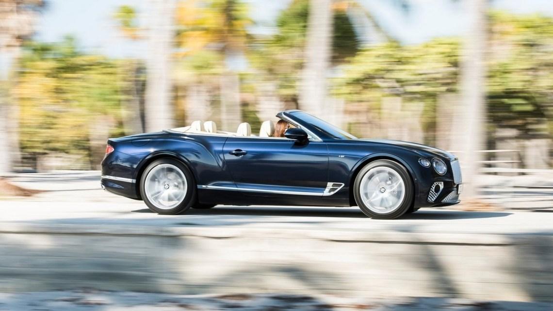 Bentley Continental GT Convertible V8 2020 – Conçu et fabriqué à la main.