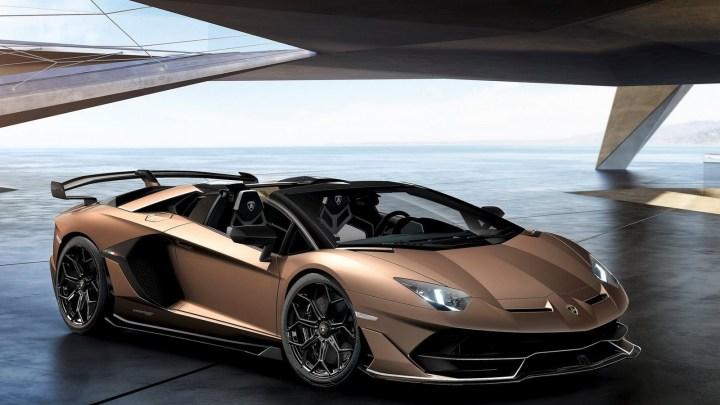 Lamborghini Aventador SVJ Roadster 2020: V12 à aspiration naturelle