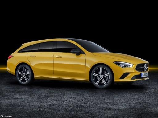 Mercedes CLA Shooting Brake 2020