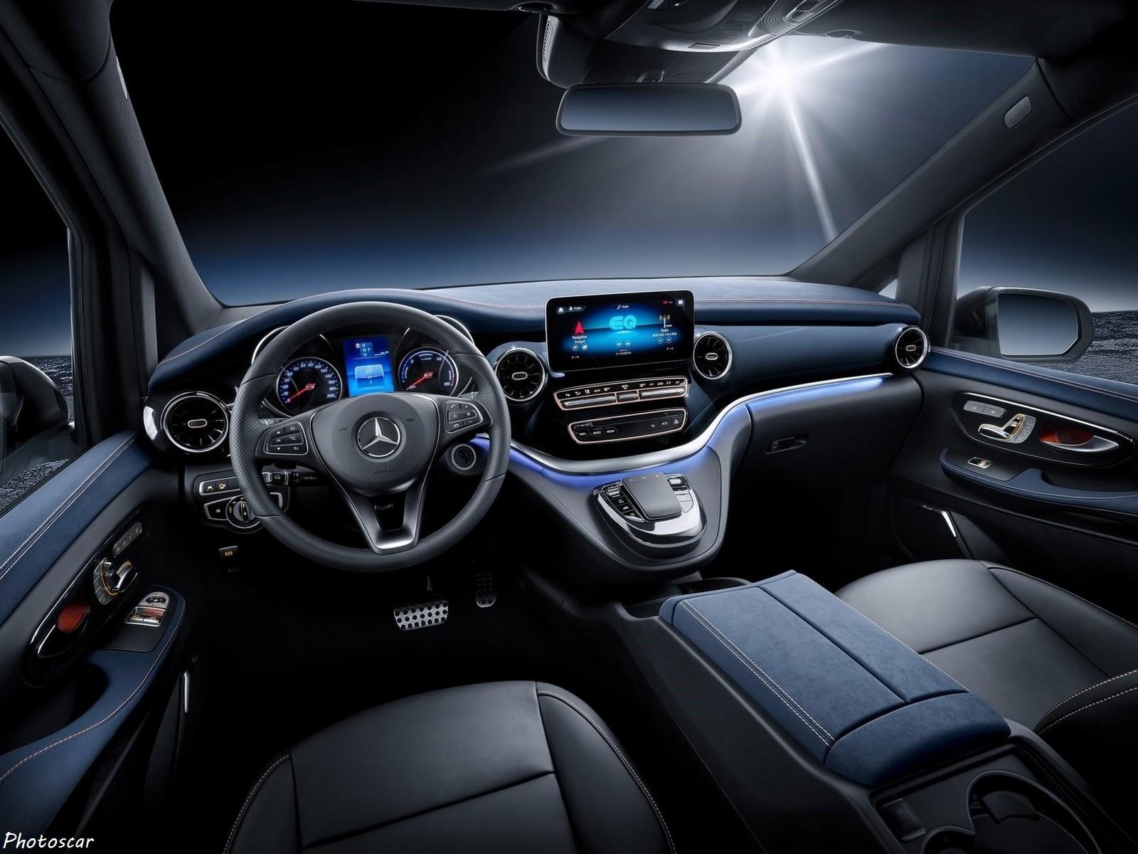Mercedes EQV Concept 2019