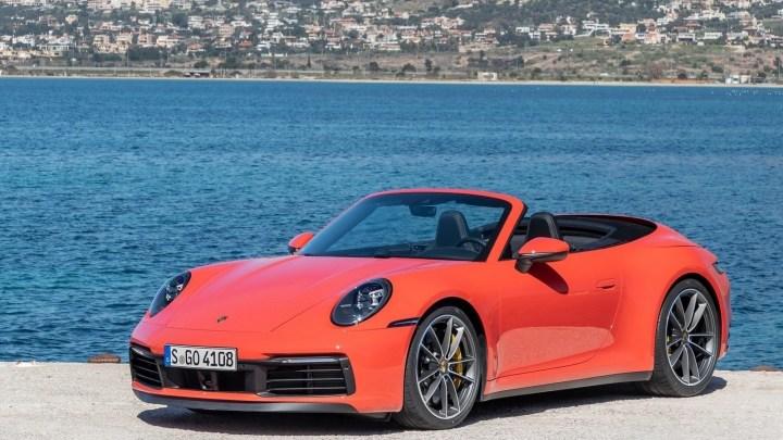Porsche 911 Cabriolet Carrera S 2019 – Confort et vitesse fulgurante.