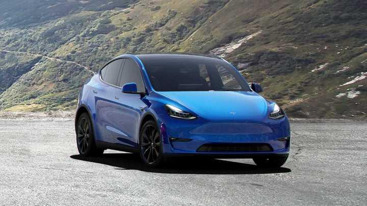 Tesla modèle Y 2021: Un VUS de taille moyenne entièrement électrique.