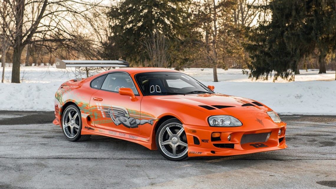 Toyota Supra Fast and the Furious 2001: Vendue aux enchères 185 000 $.