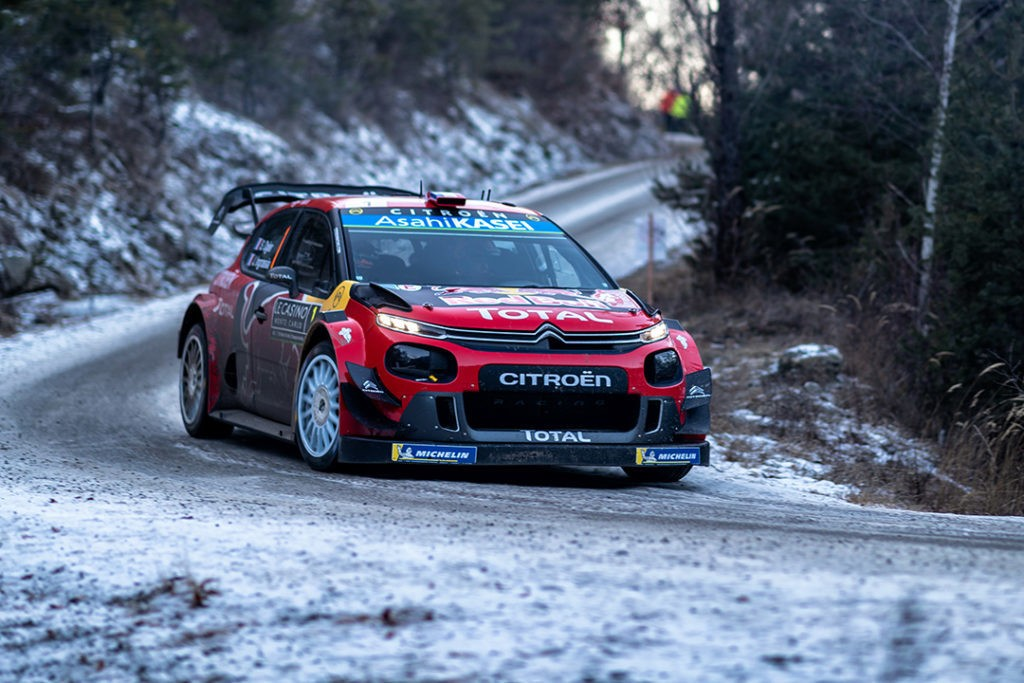 WRC 2019 - Citroen C3