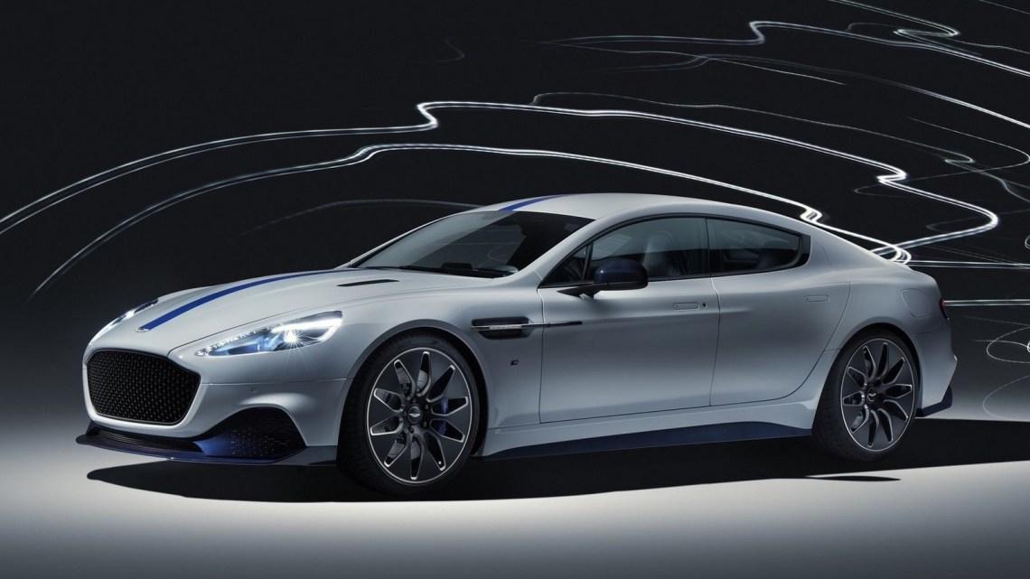 Aston Martin Rapide E 2020: La première Aston Martin 100% électrique.
