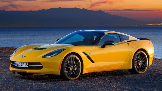 Corvette C7 Stingray Coupe Europe 2013