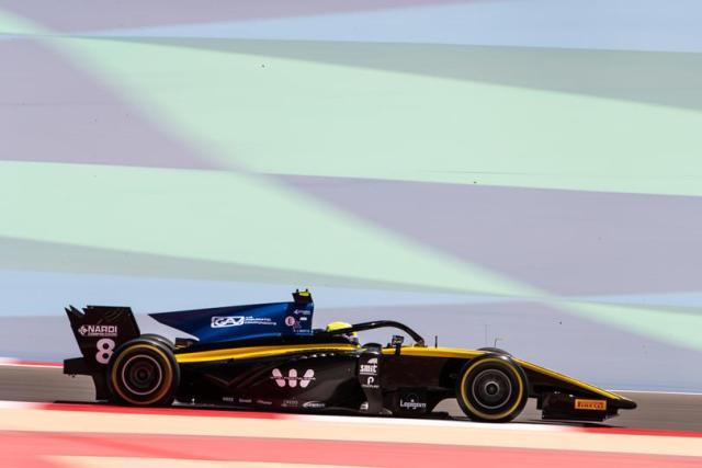 Formule 2 2019 UNI-Virtuosi-Racing - Luca Ghiotto