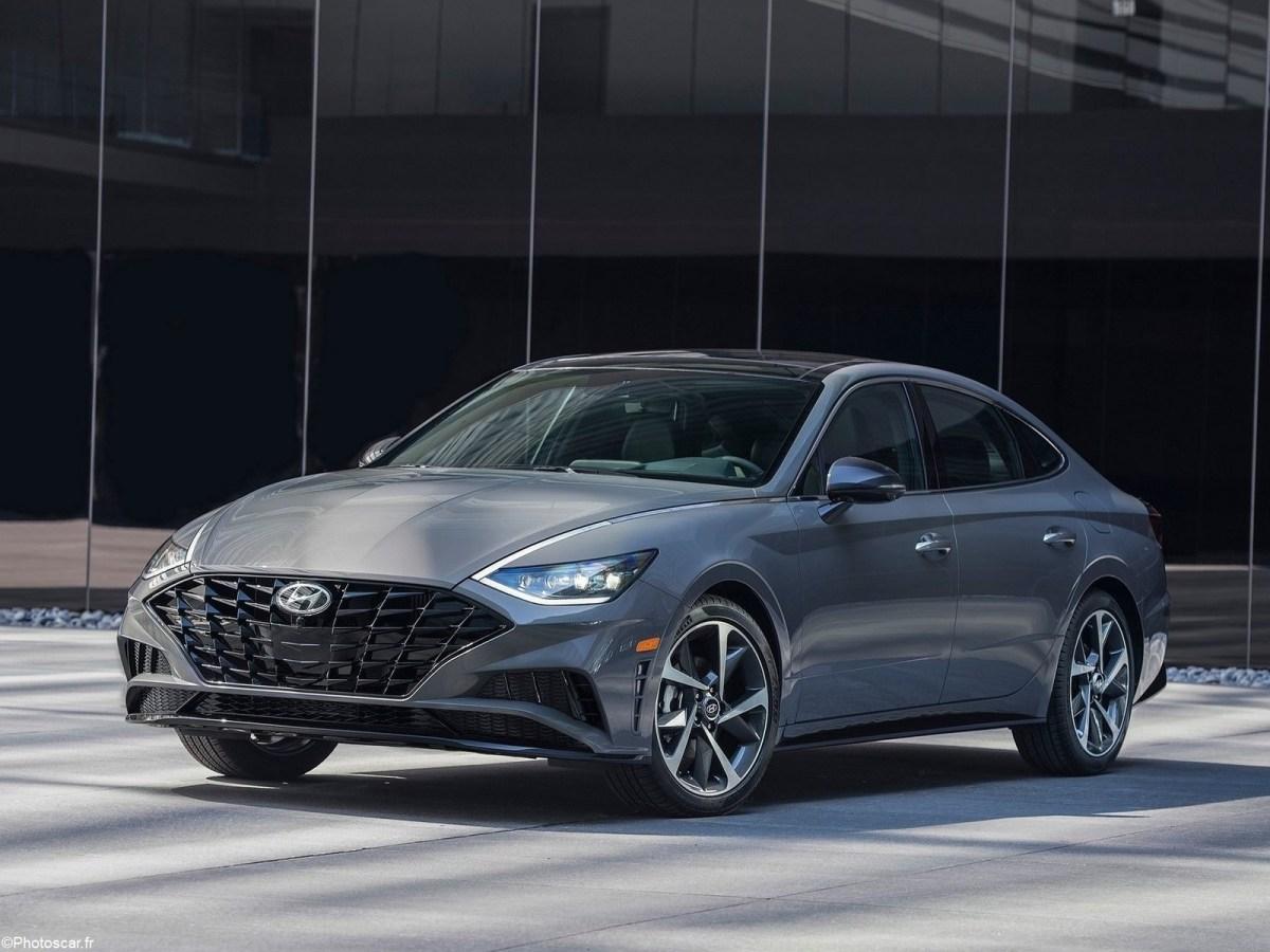 Hyundai Sonata 2020 - Huitième génération avec un look plus affirmé.