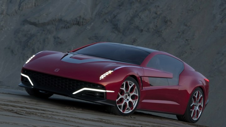 ItalDesign Giugiaro Brivido 2012: Elle offre des performances de supercar.