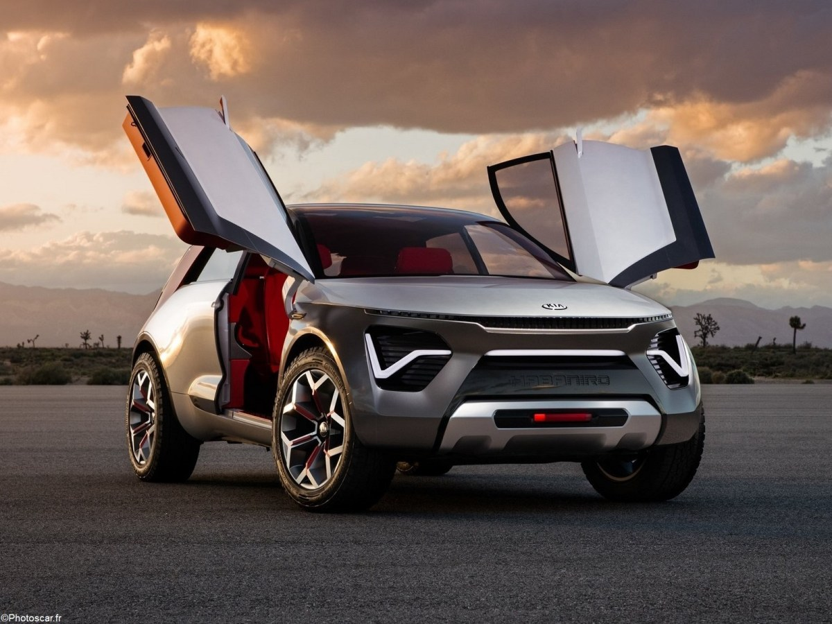 Kia HabaNiro Concept 2019 - Design futuriste Suv électrique et autonome.