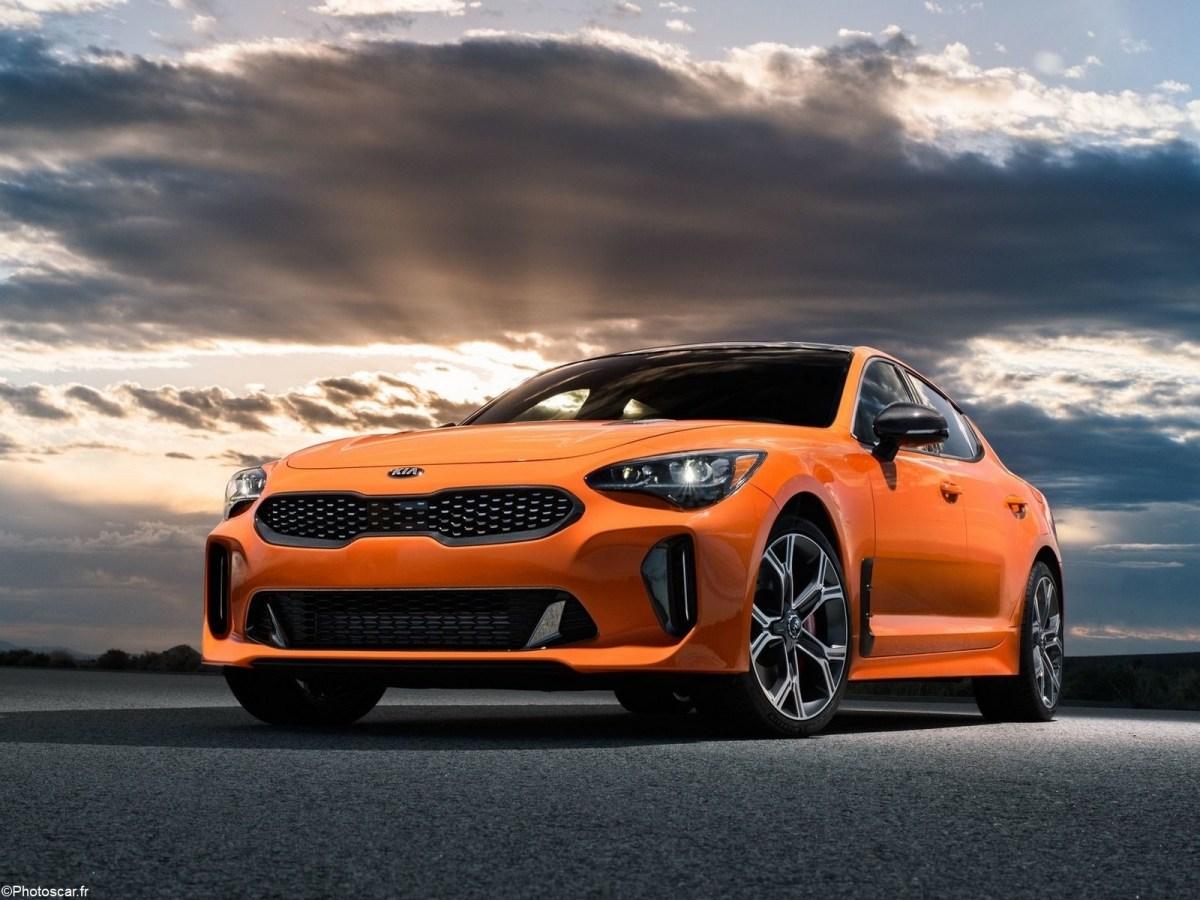 Kia Stinger GTS 2020 utilise le moteur V6 bi-turbo de 3,3 litres.