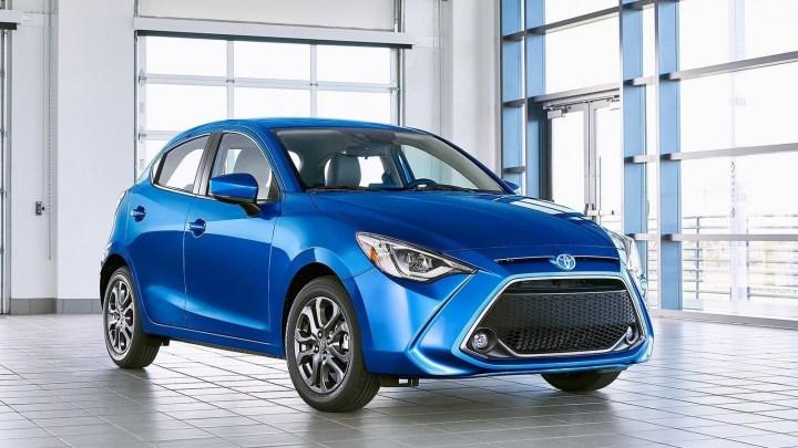 Toyota Yaris Hatchback US 2020 – Une version rebadgée de la Mazda2.