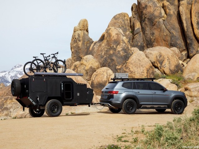 Volkswagen Atlas Basecamp Concept 2019