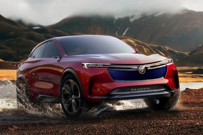 Buick Enspire Concept 2018: véhicule utilitaire sport entièrement électrique