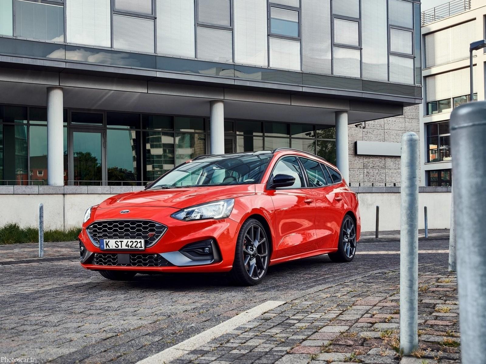 ford focus st wagon 2020 - avantages et espace pour toute