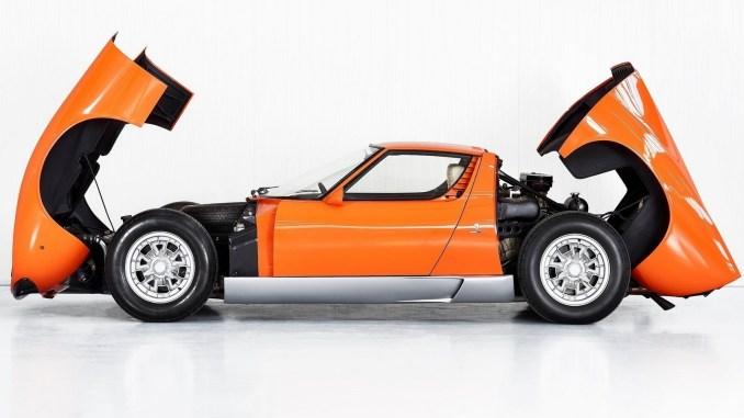 Lamborghini Miura P400 1968