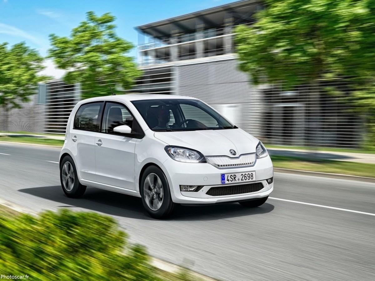 Skoda Citigo-e iV 2020 - Nouvelle mini-voiture électrique.