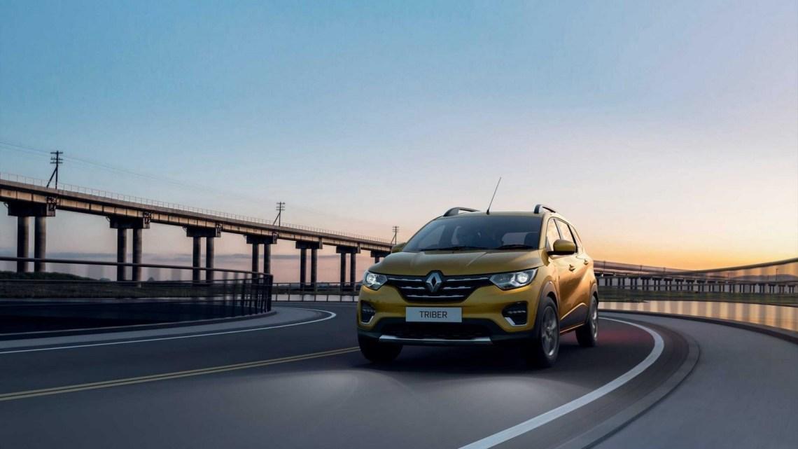 Renault Triber 2020 – Conçue et produite pour le marché indien.