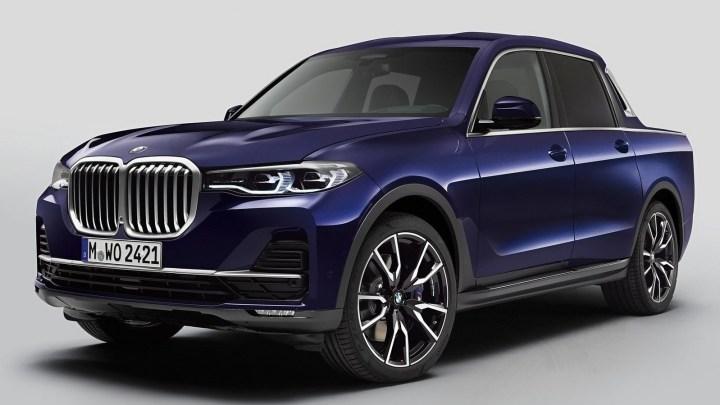 BMW X7 Pick-up Concept 2019 – Construit par des étudiants BMW
