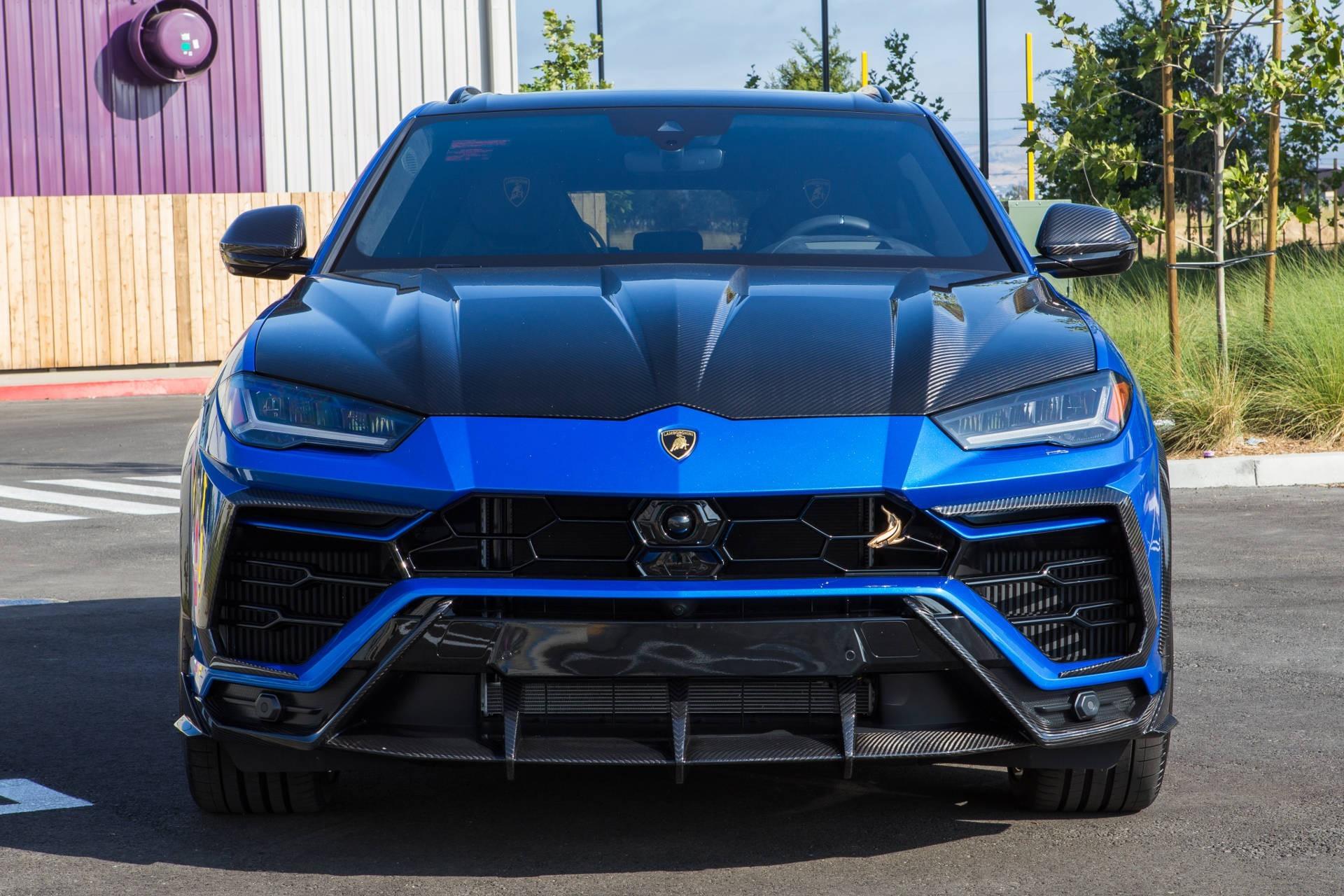 Lamborghini Urus Blue Shark 2019