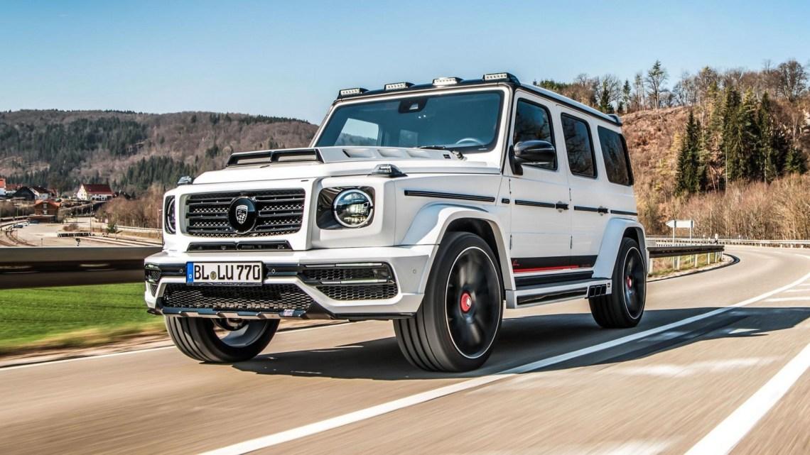 Lumma Design Mercedes CLR G770 2019 construite en Afrique du sud