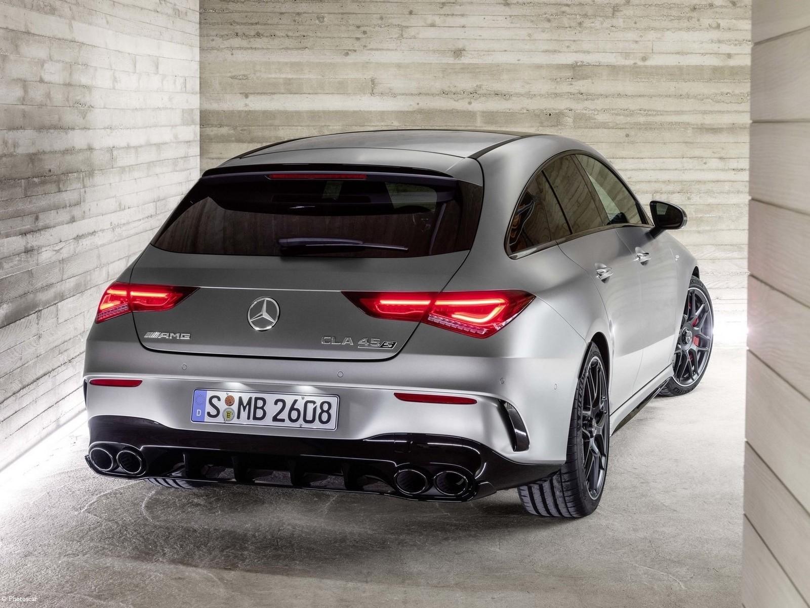 Mercedes AMG CLA45 S 4Matic Shooting Brake 2020