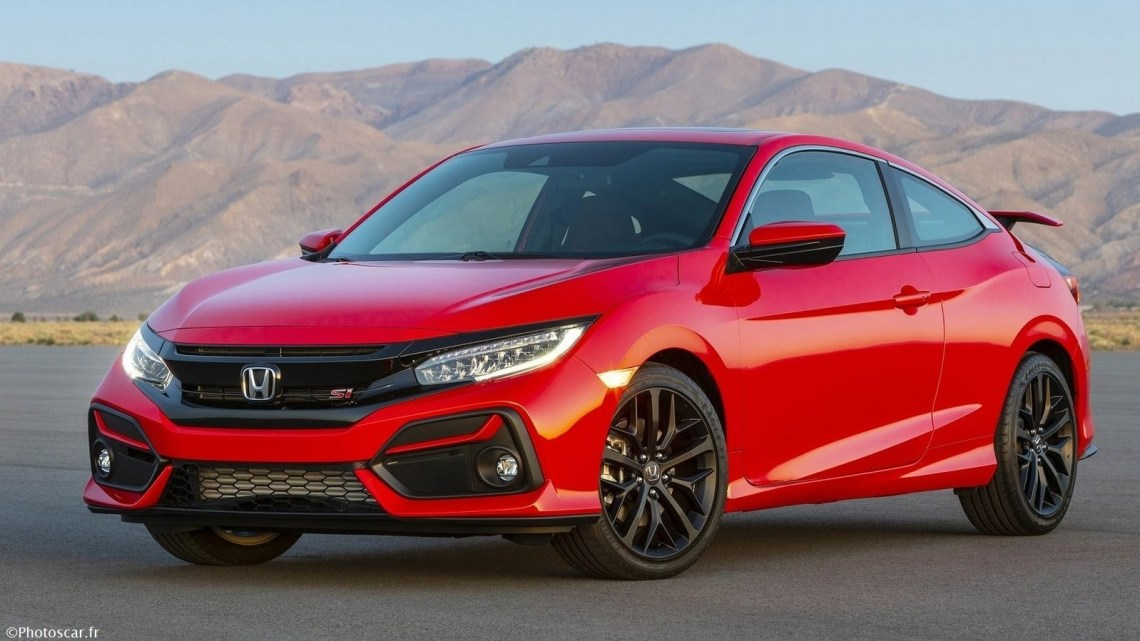 La Honda Civic Si 2020 reçoit une grande mise à niveau technologique