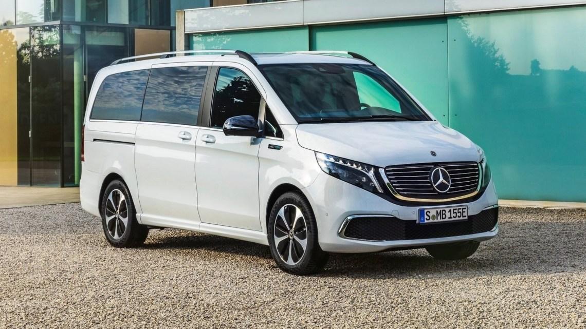 Mercedes Benz EQV 2020 – Version entièrement électrique du transporteur