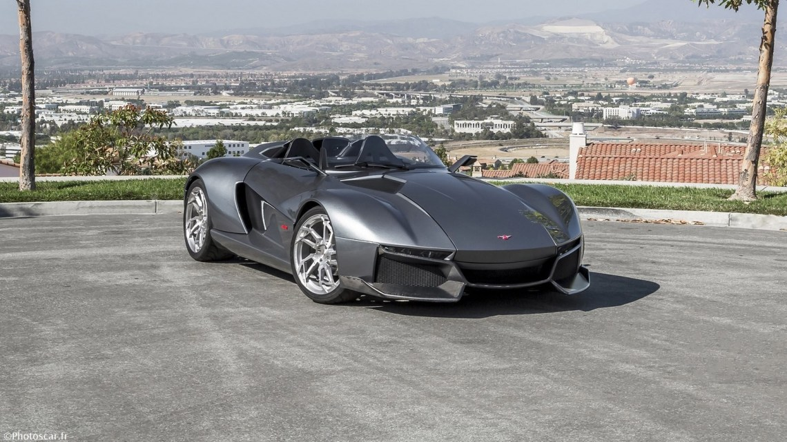 Rezvani Beast 2015 – Avec beaucoup de fibre de carbone et de vitesse