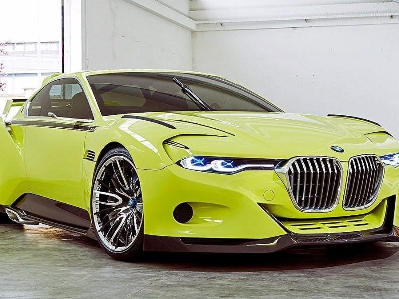 BMW 3.0 CSL Hommage R 2015 – Construit avec des matériaux légers