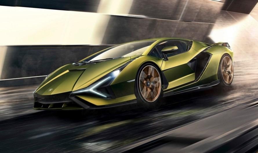 Lamborghini Sian 2020 – La super voiture de sport hybride V-12 de 819 ch