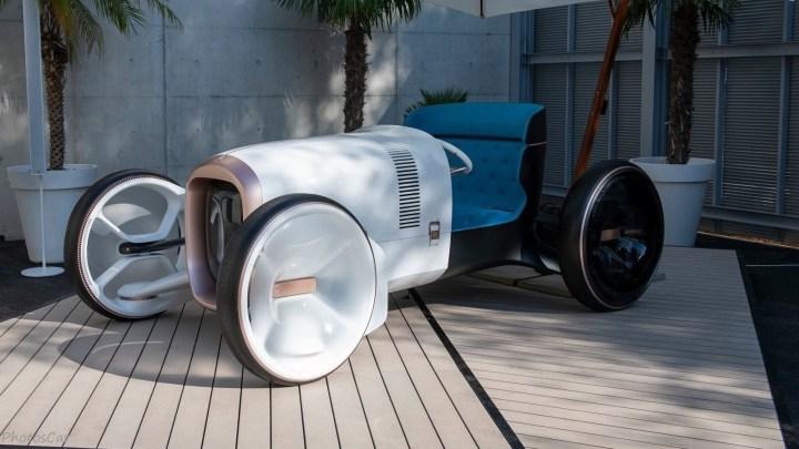 Mercedes Benz Vision Simplex Concept 2019 – Une biplace électrique