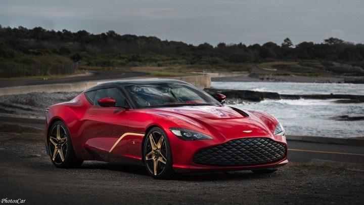 Aston Martin DBS GT Zagato 2020 avec 760 chevaux