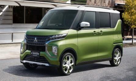 Mitsubishi Super Height K-Wagon Concept 2019