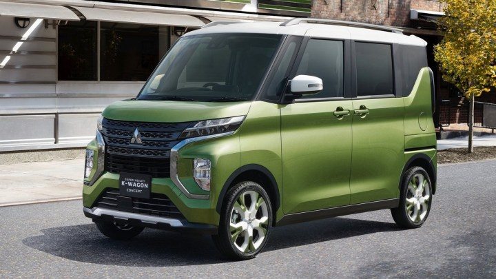 Mitsubishi Super Height K-Wagon Concept 2019 – Design moderne