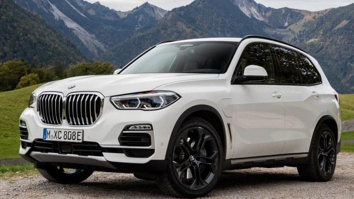 BMW X5 xDrive45e iPerformance 2019, une autonomie électrique 80 km.