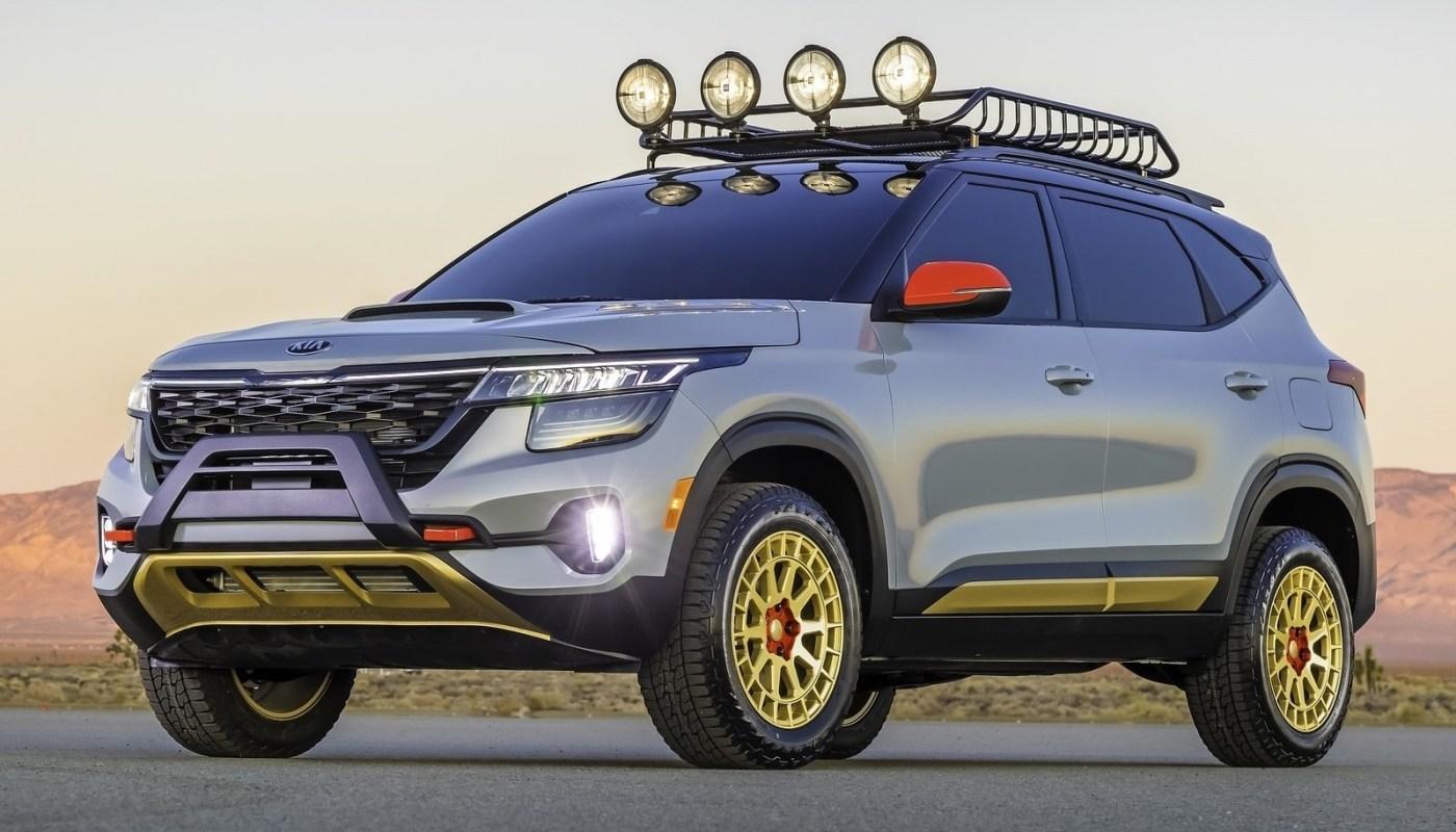 Kia Seltos X-Line Concept 2019